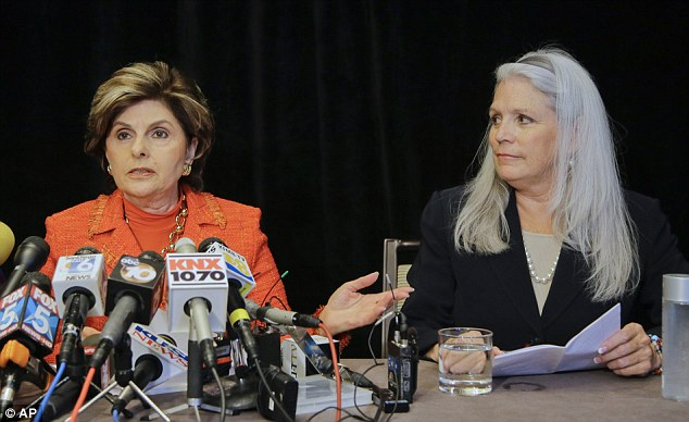 Media field day: Allred and Jackson held a news conference on Monday where they revealed details regarding their accusations of sexual misconduct against Filner