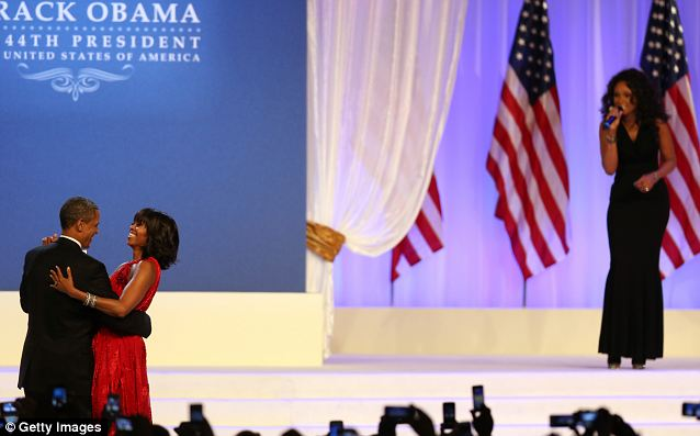 Barack and Michelle Obama danced to 'Let's Stay Together,' courtesy of former 'American Idol' standout and Oscar winner Jennifer Hudson during the January 2013 Inaugural Ball