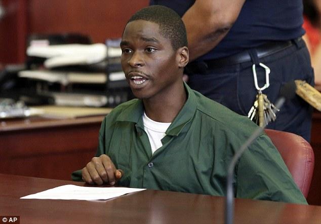 Rambling: Davis said that he had gotten an unfair trial during his sentencing in Manhattan on Tuesday