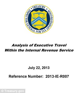 IRS travel report