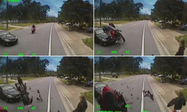 Nick O'Leary motorbike crash