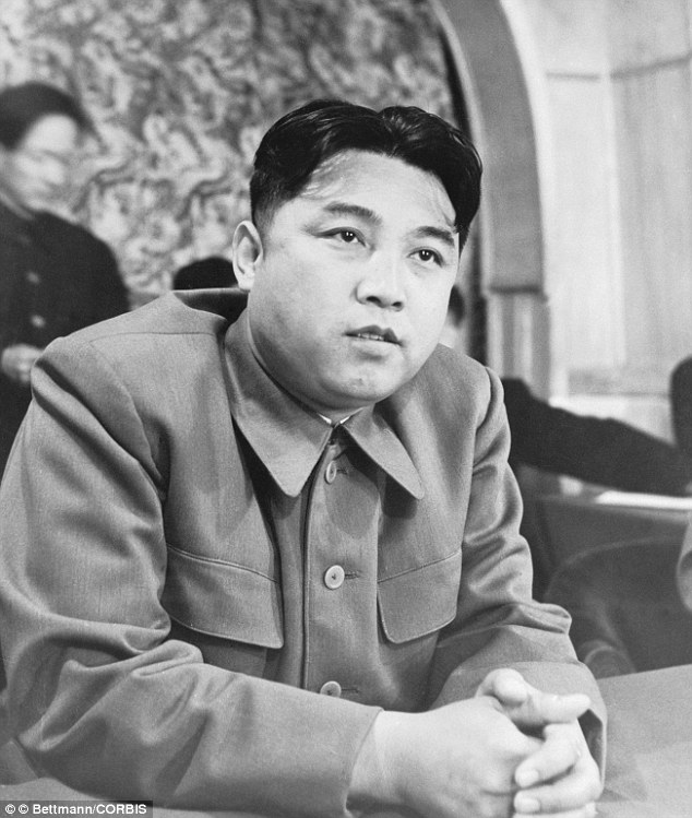 Founder: Kim il-Sung founded the North Korean state, leading it until his son Kim Jong-il took over after his death