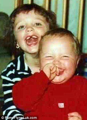 Seanie and Sinead as youngsters
