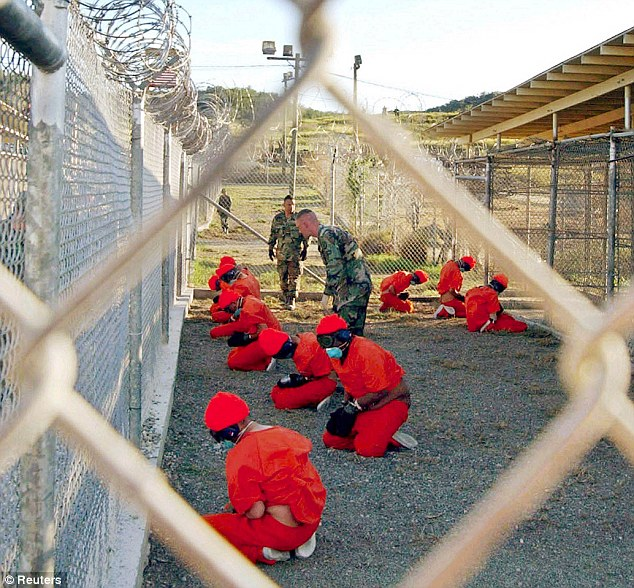 Odd: The Fifty Shades of Grey series of erotic novels are the favorite reading material among former CIA captives being held at the notorious Guantanamo detention camp.