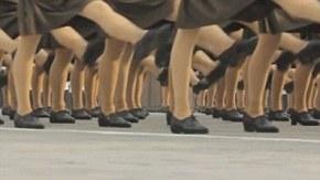 Kim Jong Un's mini-skirted robot army: North Korea's ...