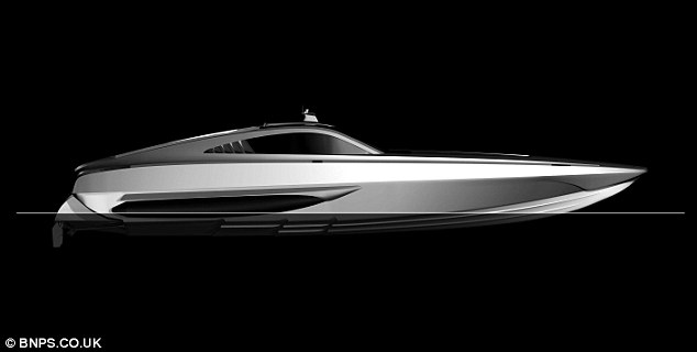Streamlined: The boat, the fastest military vessel ever made - is being sold with no reserve and is tipped to sell for a fraction of its £1.5 million value