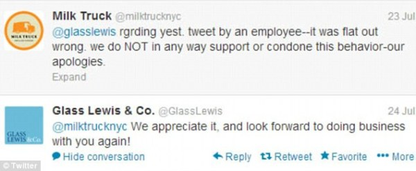 Milk Truck employee Brendan O'Connor fired after he calls ...