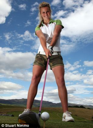 Miss Booth has said she wanted to make golf more appealing for girls