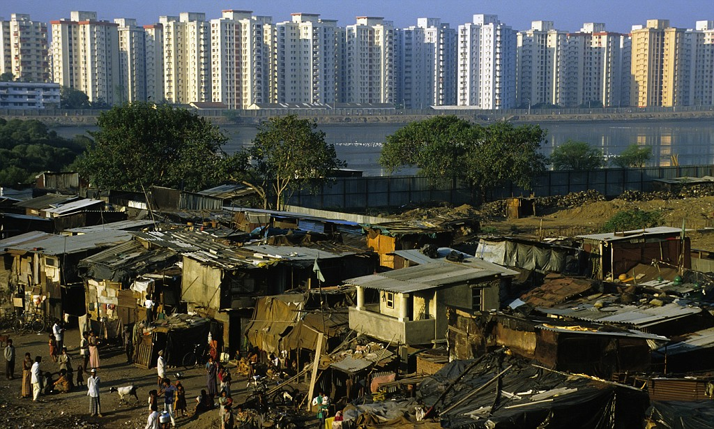 Image result for wealth and poverty alongside wach other