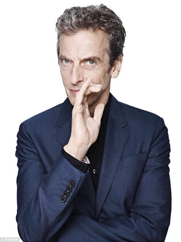 Debate: Fans of Doctor Who have sparked an ageism row as some have branded the twelfth Doctor Who Peter Capaldi, too old, at age 55