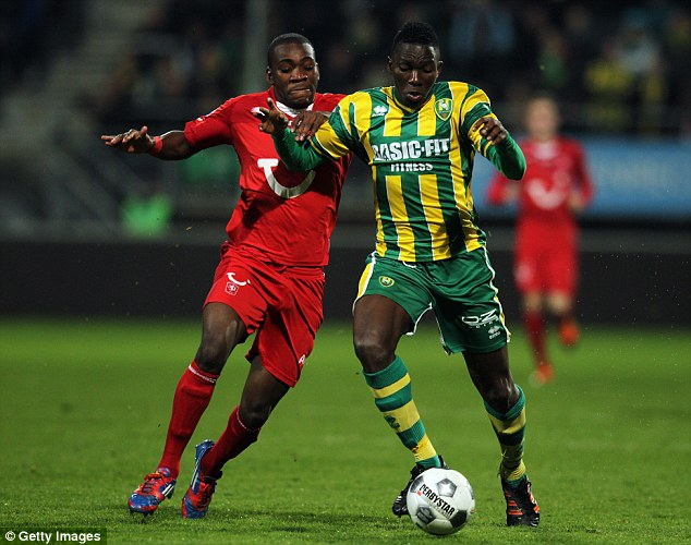 In demand: New Chelsea signing Kenneth Omeruo (right) is attracting loan interest from Liverpool