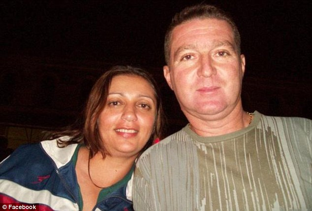 Victims: Luiz Pesseghini, 40, a police sergeant with 19 years service was found dead in his bed. Andreia Pesseghini, 30, who had served in the military police for 16 years was found on her knees in the bedroom