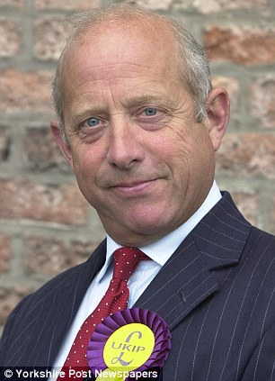 Controversial: Godfrey Bloom¿s comments about what he sees as the abuses of British aid to ¿bongo bongo land¿ have provoked a storm