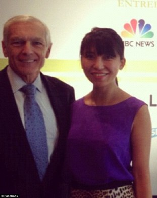 Dating? General Wesley Clark and fashion entrepreneur were first pictured together at the Democratic National Convention in Charlotte, North Carolina, in September 2012