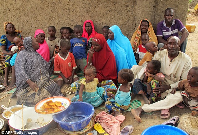 Poverty: Millions of Nigerians are living in poverty, despite the country earning huge profits from its oil deposits