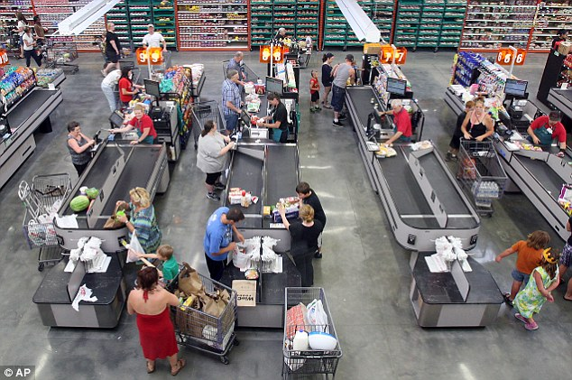 WinCo keeps prices low by buying direct from suppliers and asking customers to bag their own groceries