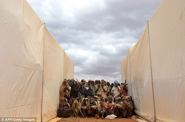 Questions: Aid workers struggled to deliver supplies to thousands of Somali refugees during the humanitarian crisis in 2011