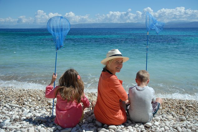 Mariella Frostrup In Paxos The Presenter And Her Family