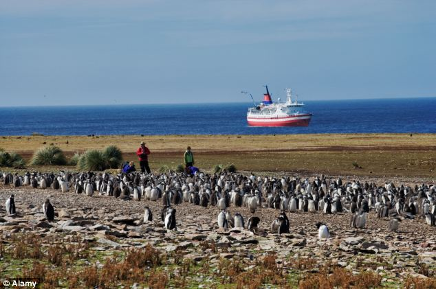 Cristina Kirchner wants Britain to agree to negotiations over the Falklands (pictured)