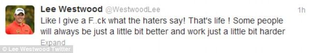 Lee Westwood