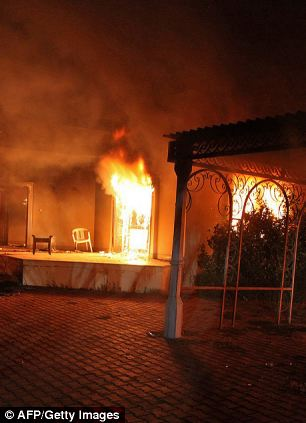 As the Benghazi compound went up in flames, says Joe diGenova, 400 missiles capable of bringing down jetliners were 'stolen' from U.S. control, possibly at the nearby CIA annex