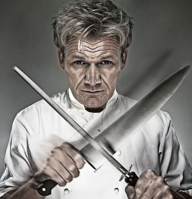 Gordon Ramsay, of Hell's Kitchen and Kitchen Nightmares fame