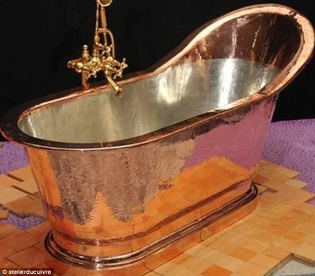 Mayor Michael Bloomberg Imports 13000 Copper Bathtub