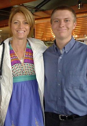 Rachel with son Jesse