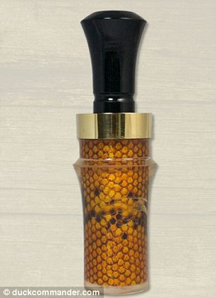 The original Duck Commander duck call device