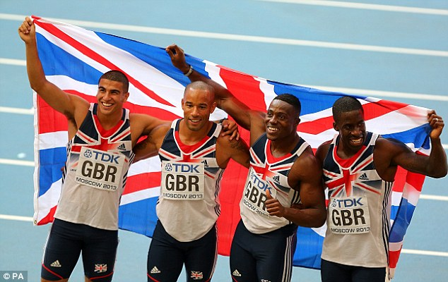 It didn't last? Great Britain were initially celebrating their bronze medal