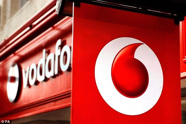Vodafone office.