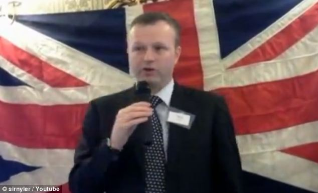 Will Gilpin is leaving as chief executive of UKIP
