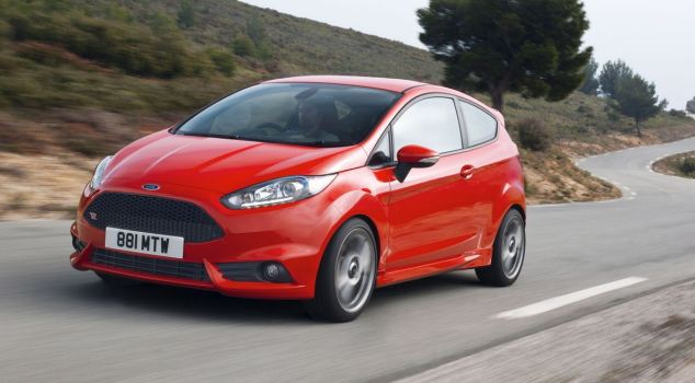 Ford Fiesta ST car