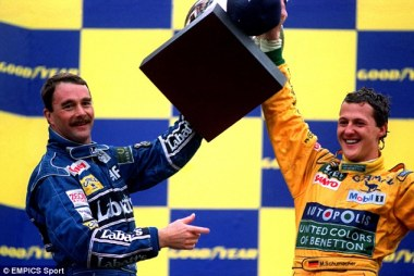 Belgium GP 1992-the first victory of Michael Schumacher