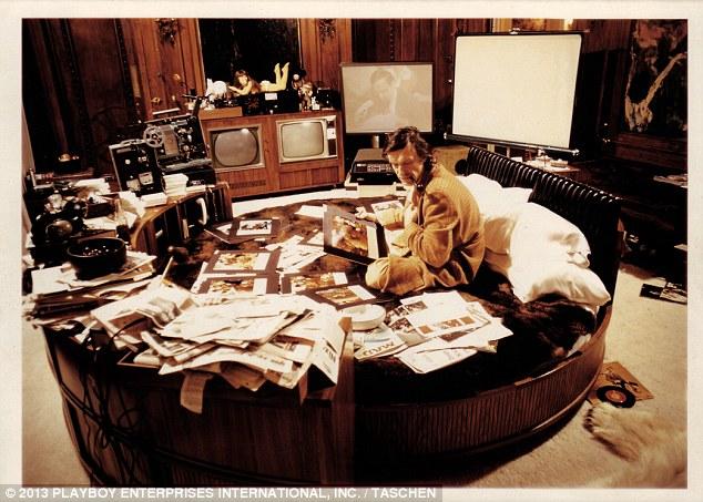 Hugh Hefner Inside Junky Bedrooms