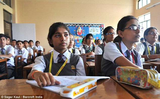 Image result for indian christian school girl falling down in school
