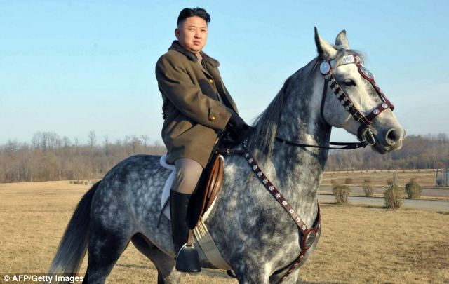 Callous: Kim Jong-un lives a fantasy life on the one hand, while allowing the torture and oppression of his people on the other