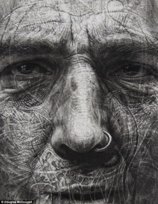 Scottish Artist Douglas McDougall Creates Lifelike