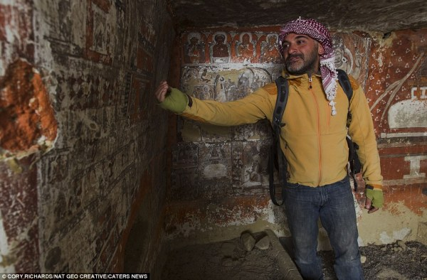 Mystery of the ancient caves in Nepal | Daily Mail Online