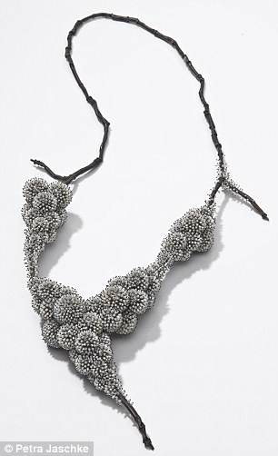 'Frozen': a 2011 piece made from silver nylon and freshwater pearls by Sam Tho Duong