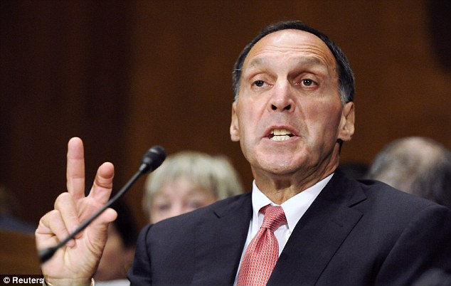 Defiant to the end: Former Lehman Brothers Chairman and CEO Richard 'Dick' Fuld testifies to Congress about the firm's collapse