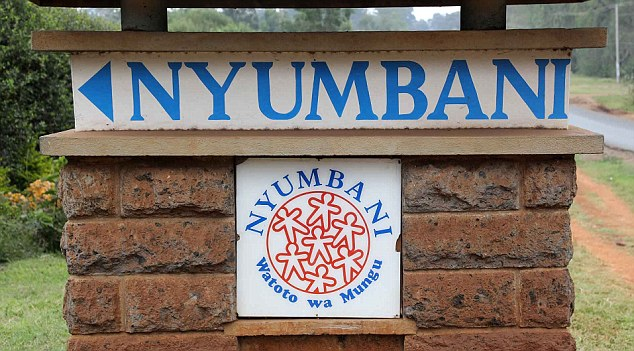Nyumbani Children's Home for kids infected with HIV in Kenya had a connection with Wood