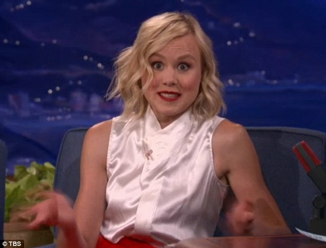 'Hideously embarrassing': One year after she accidentally tweeted a topless selfie to her 16,000 followers, Alison Pill addressed the 'embarrassing technical snafu'