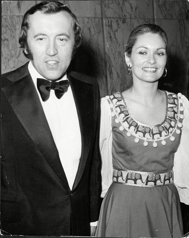 His rebound romance: Alexandra Bastedo. Both nursing broken hearts, they dated for a while and remained lifelong friends