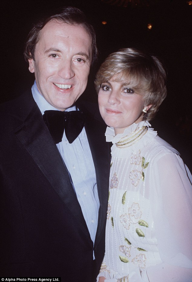 Disastrous marriage: Lynne Frederick with Frost. A short marriage to Peter Sellers' widow was wrecked by her drinking