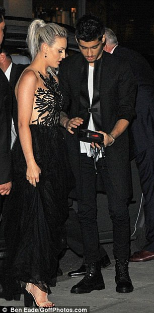 Young love: The couple are said to be 'dreading' spending long periods of time apart as One Direction tour Australia and New Zealand early next year