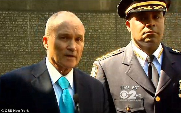 Hate crime: Police Commissioner Ray Kelly says detectives are investigating whether the attack was racially motivated