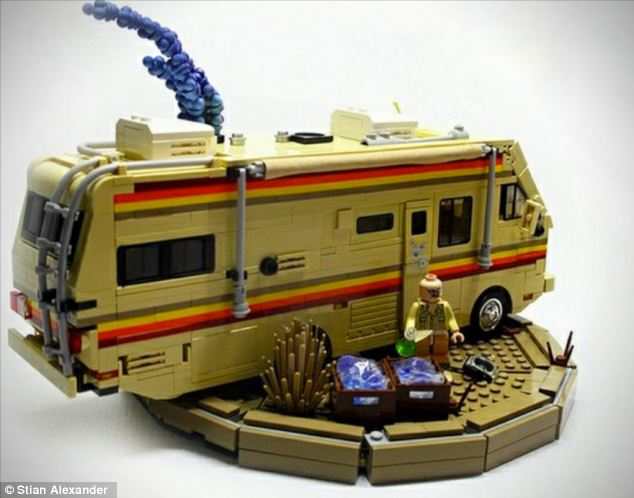 The RV used by the characters to rustle up their drugs. Customers are given all the drugs paraphernalia with the kit