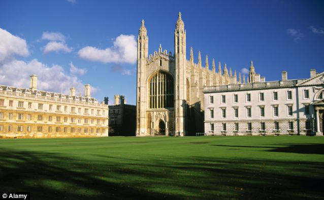 Highly rated: Cambridge University was the highest ranked UK institution coming third in the QS world University rankings