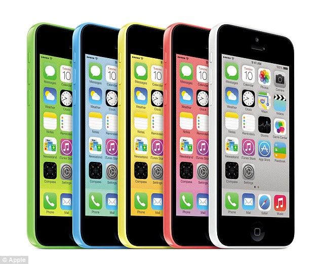 In what's been classed as a 'make or break' event for Apple, the Californian-based tech firm has unveiled its plastic iPhone 5C that comes in a range of colours and will cost £469.